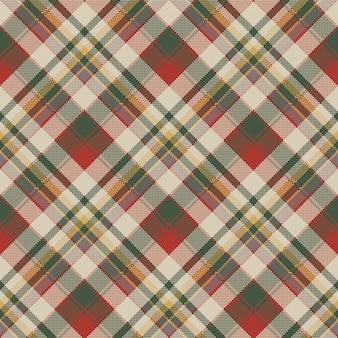 Jute tartan stof textuur check naadloze patroon