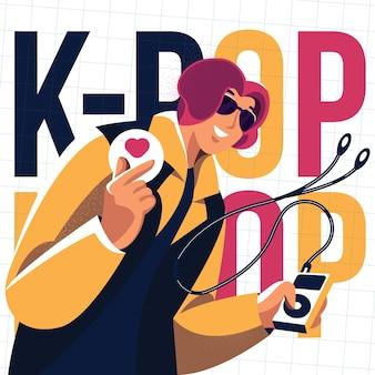 K-pop muziek concept