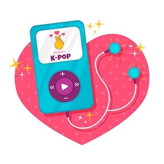 K-pop muziekconcept