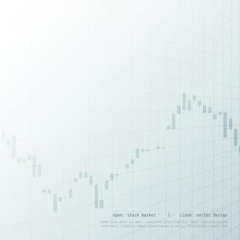 Kaars stok stock marketing handel investering concept ontwerp