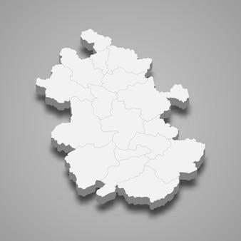 Kaart provincie van china