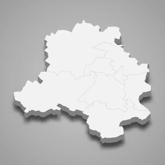 Kaart staat van india
