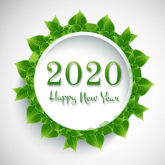 Kaart voor nieuwjaarsviering 2020
