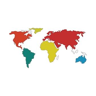 Kaarten pictogram logo ontwerp illustratie