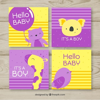 Kaartencollectie babyjongen