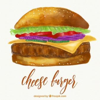 Kaasburger illustratie