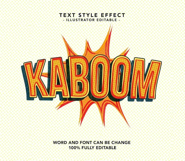 Kaboom-lettertype