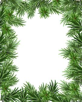 Kaderachtergrond van spartakken voor kerstkaart. wenskaartsjabloon