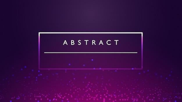 Kaders met tekst abstracte achtergrond