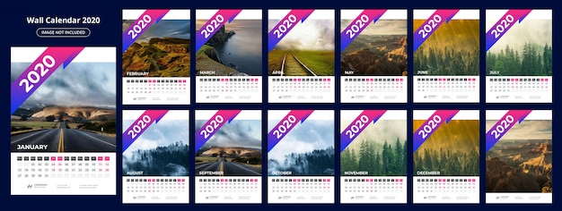 Kalender 202 sjabloon