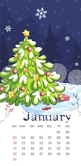 Kalender 2021 januari.