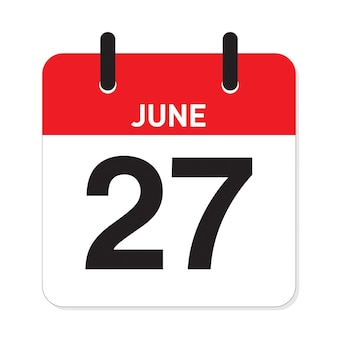 Kalender 27 juni