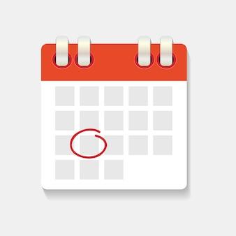 Kalender en klokpictogram. concept van schema, afspraak.