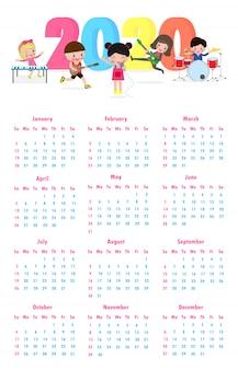 Kalender kalender 2020