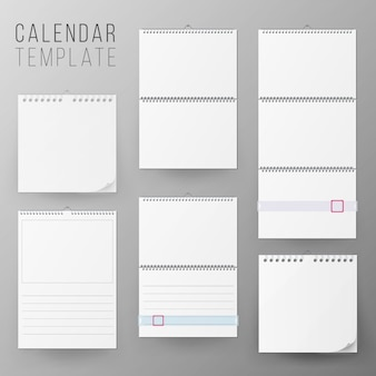 Kalender sjabloon