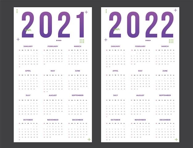 Kalender voor 20212022