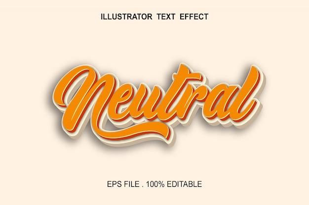 Kalligrafie lettertype-effect met schaduw