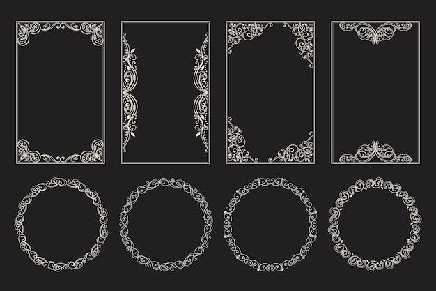 Kalligrafische sierlijst