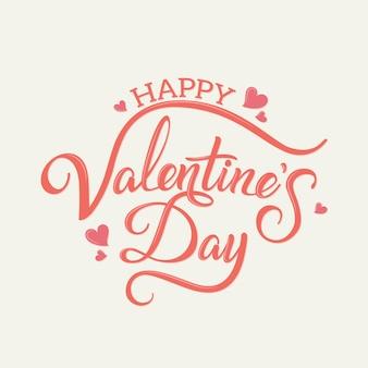 Kalligrafische valentijnskaart