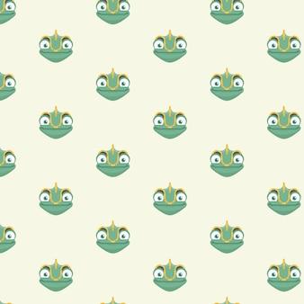 Kameleon patroon.