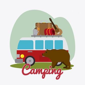 Kamperen, reizen en vakanties