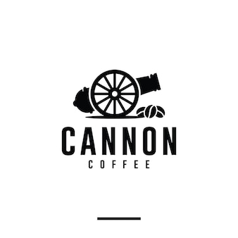 Kanonkoffie, winkel, inspiratie voor logo-ontwerp