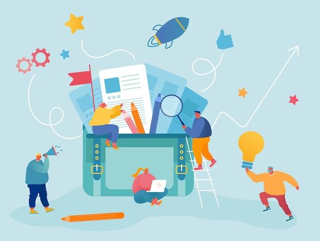 Kantoorwerk en partnerschap samenwerking concept