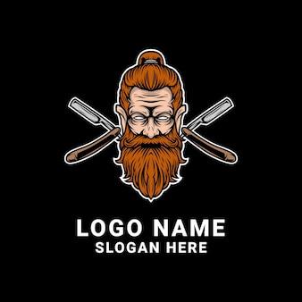 Kapper logo ontwerp