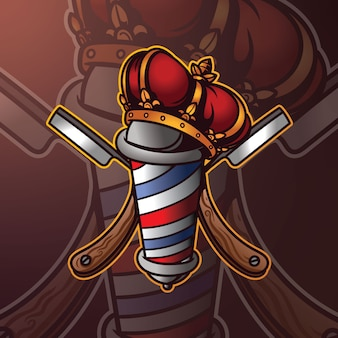 Kapper mascotte logo