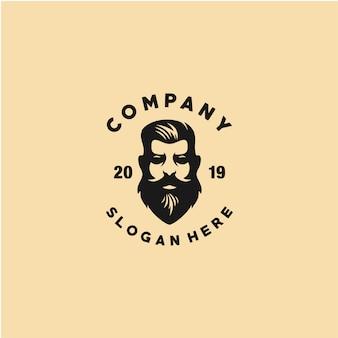 Kapper winkel logo sjabloon