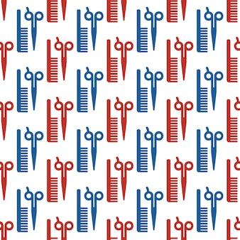 Kappers accessoires patroon