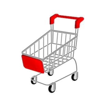 Kar voor supermarkt