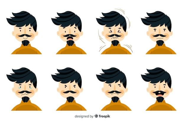 Karakter met emoties