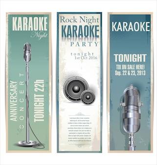 Karaoke achtergrond