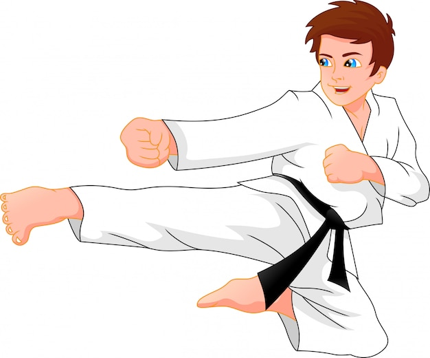 Karate jongen
