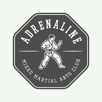 Karate logo, embleem