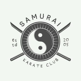 Karate of vechtsporten logo