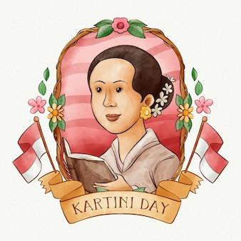 Kartini dag concept