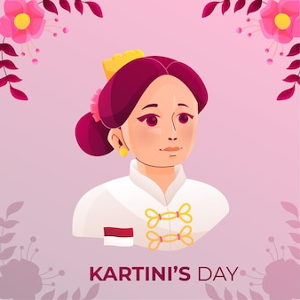 Kartini dappere vrouwelijke held