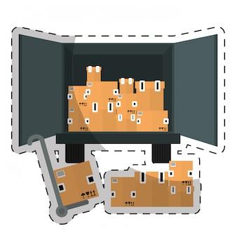 Kartonnen doos ontwerp