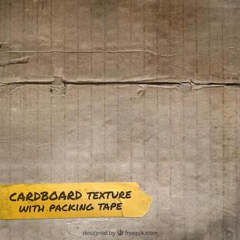 Kartonnen doos textuur