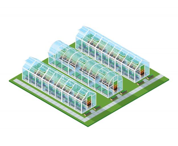 Kassen isometrische locatie
