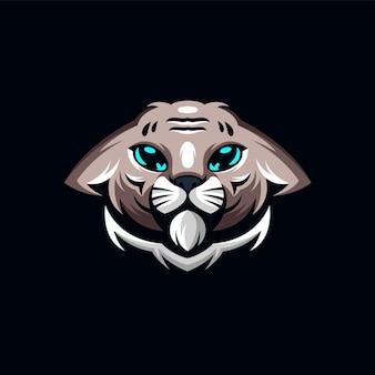 Kat logo ontwerp