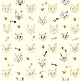 Kat patroon