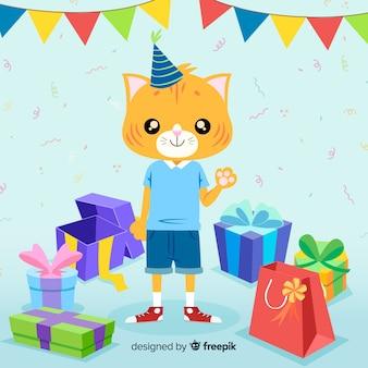 Kat verjaardag