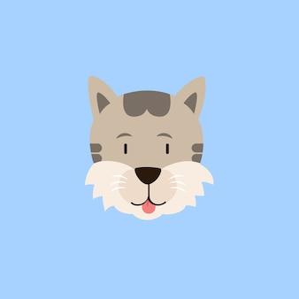 Katten hoofd