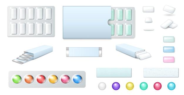 Kauwgom set.