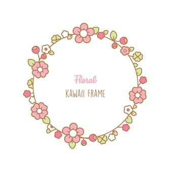 Kawaii bloemenlijst