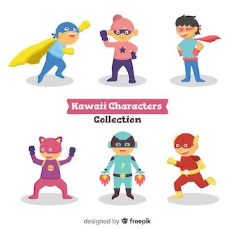 Kawaii karakterverzameling