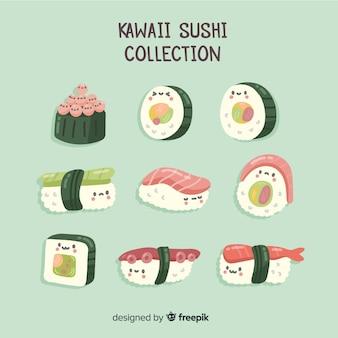 Kawaii sushi-collectie